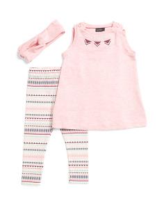 824782f2e23c7 Newborn Girls 2pc Tie Back Tunic With Printed Aztec Leggings ...